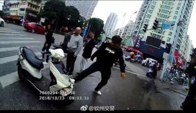 冲卡!砸车 !攻击交警!钦州一男子果断被刑拘!