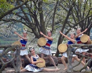 2019年钦北区板城碗窑梨花节,春季踏青赏花的好去处,更有美艳花仙子!