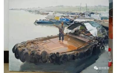 三娘湾和渔港,在画上也一样美丽!