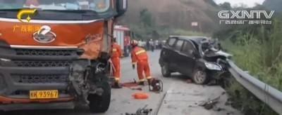 悲剧!浦北两车相撞三人不幸身亡,涉事司机弃车离开现场…