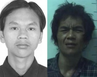 钦北警方公开通缉涉枪逃犯归昌滨找到了!原来是在.....