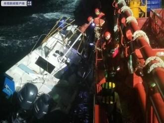 北部湾海域连续发生3起钓鱼船23人遇险险情,钦州救出6人,防城港一家四口失联