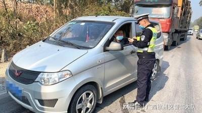 钦州:严厉打击拼车包车超员载客违法行为