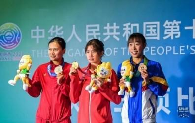 钦州平吉黄安琪获全运会铁人三项个人冠军