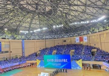 钦州市第七届运动会开幕式,全市最高规格的综合性体育赛事