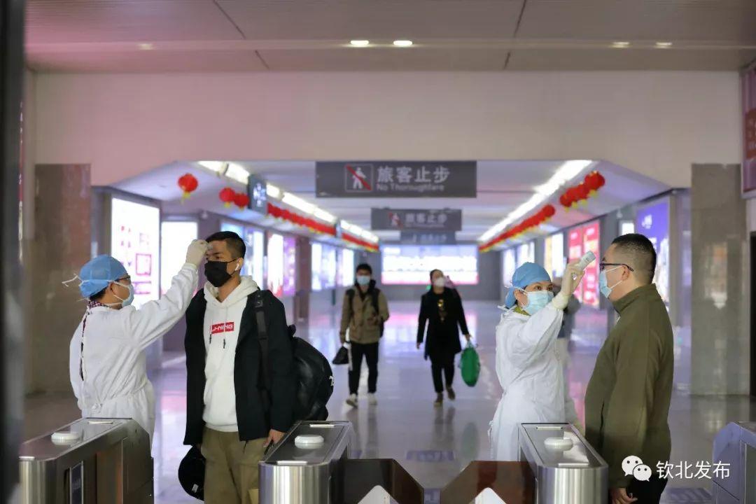 钦北区万众一心迎挑战众志成城战疫情,全力以赴做好新型冠状病毒感染的肺炎疫情防控、宣传等工作